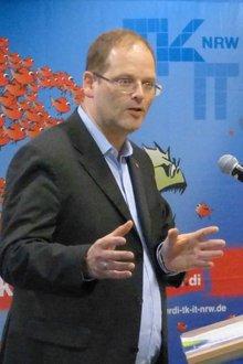 Andreas Franke in der Beamtenpolitischen Konferenz 2015