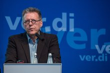 Michael Halberstadt in der Tarifpolitischen Konferenz BuFB 9, Fulda 4.2.2016