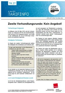Tarifinfo 5 - Seite 1