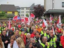 Streik T-Systems Königswinter 29.04.2014