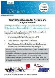 Tarifinfo 1 NetCologne