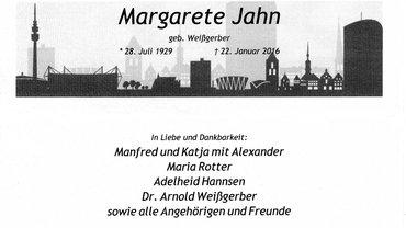 Margarete Jahn