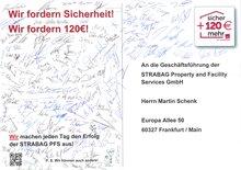 Postkarte aus Oberhausen an die Arbeitgeber