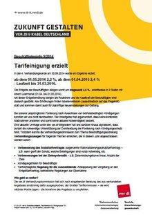 Tarifinfo Einigung Kabel Deutschland