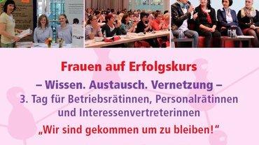 Ausschreibung Betriebsrätinnentag 2014 - Kopf