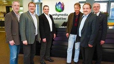 Neu gewählt: ver.di-AN-Vertreter im Aufsichtsrat Unitymedia