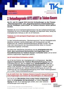 Tarifinfo 6 Gute Arbeit Telekom - Seite 1