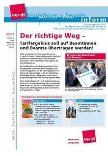 Inform 05/2014 - Seite 1 von 4