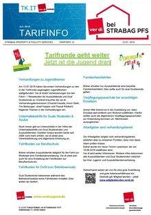 Tarifinfo 12 Tarifrunde STRABAG PFS 2016 - Jugendthemen werden verhandelt