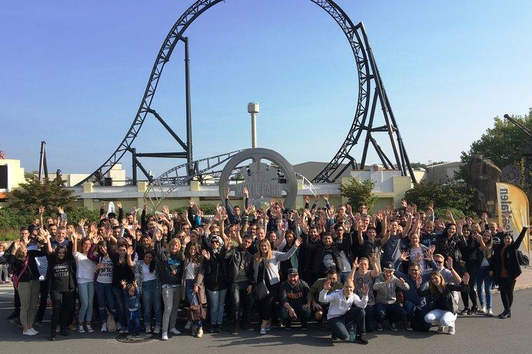 Neue ver.di-Mitglieder am 24.09.2016 im Movie-Park begrüßt