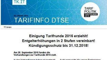 Tarifinfo DTSE - Teaser