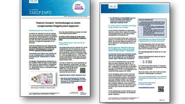 Tarifinfo 1 - Harmonisierung Entgeltsysteme Telekom-Konzern