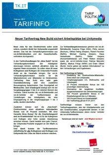 Tarifinfo New Build Unitymedia