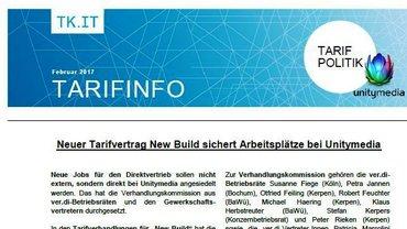 Tarifinfo New Build - Teaser