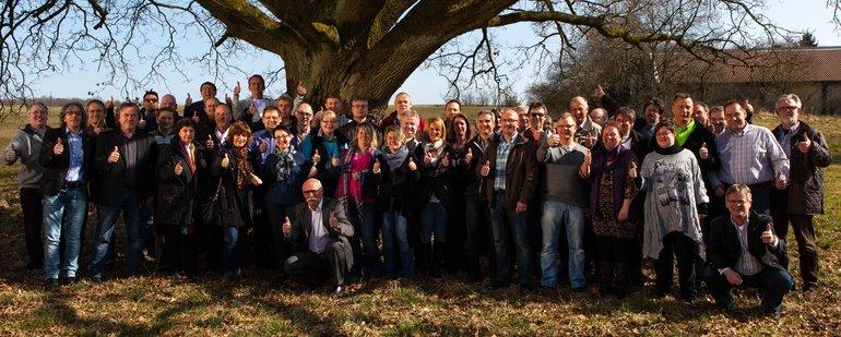 Das ver.di-Team in der STRABAG PFS Region Mitte