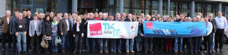 Landesfachbereichskonferenz TK/IT/DV NRW - Gruppenfoto