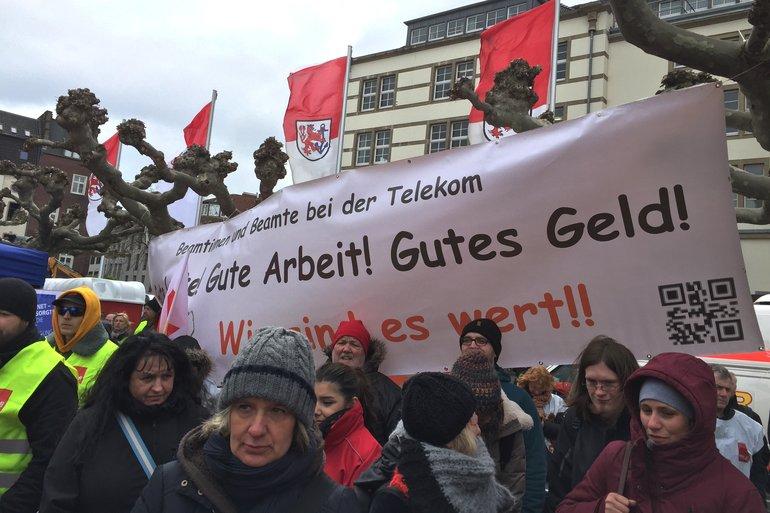 Demonstration Tarifrunde ÖD am 26.04.2016 in Düsseldorf