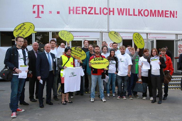 Hauptversammlung Telekom 2015