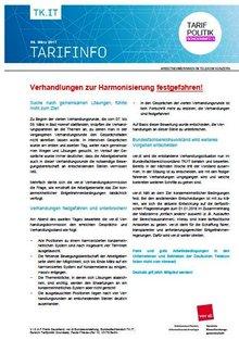 Tarifinfo 5 - Harmonisierung Entgeltsysteme Telekom-Konzern