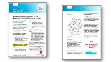 Tarifinfo Mitbestimmungsstruktur Deutsche Telekom IT GmbH