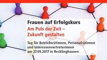 Flyer Betriebsrätinnentag 2017 - Teaser