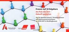 Flyer Betriebsrätinnentag 2017 - Deckblatt