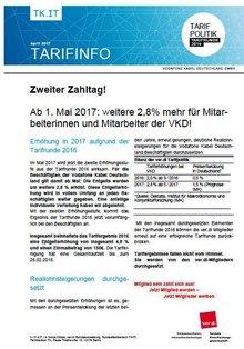 Tarifinfo zweiter Zahltag vodafone Kabel Deutschland