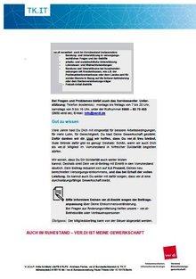ver.di-Info Bundestag beschließt engagierten Vorruhestand - Seite 2