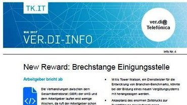 Flyer New Reward: Brechstange Einigungsstelle - Teaser