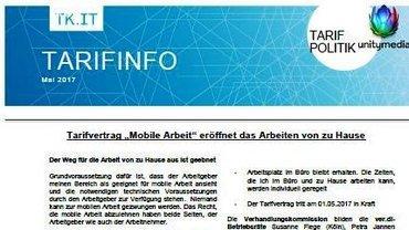 Tarifinfo Mobile Arbeit - Teaser