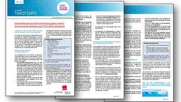 Tarifinfo 6 Harmonisierung Entgeltsysteme Telekom-Konzern