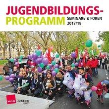 Jugendbildungsprogramm ver.di NRW 2017/2018 - Titelblatt
