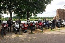 Motorradtour am Niederrhein