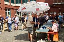 ver.di-Sommerfest (Abschiedsfest) Telekom-Standort Düsseldorf Erkrather Str. - Vor Umzug in das Konzernhaus am Seestern