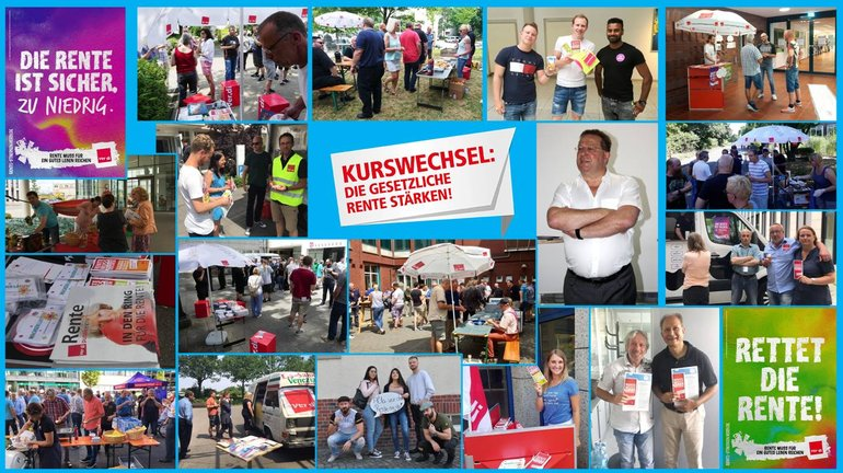 Aktionswoche Juni 2017 im FB 9 in NRW - Collage