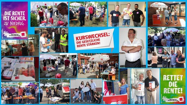 Aktionswoche Juni 2017 im FB 9 in NRW - Collage