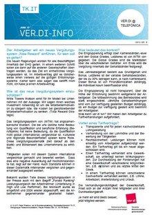 Flyer 6 Telefónica Der Arbeitgeber plant ein neues Vergütungssystem