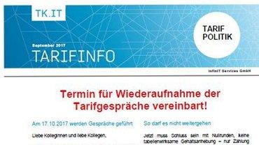 infin IT - Tarifinfo September 2017 - Teaser