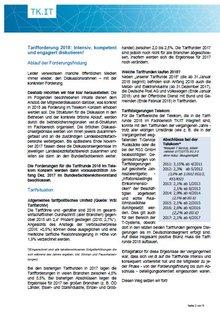 Tarifinfo Diskussionsrahmen Tarifrunde Telekom 2018 - Seite 2 von 5