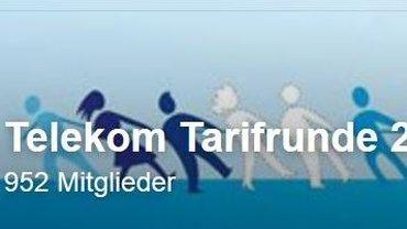 Tarifrunde Telekom 2018 auch bei facebook - Teaser