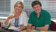 Conny Parisi-Bohmholt und Frank Schmidt
