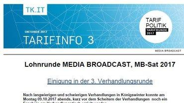 Tarifinfo 3 MEDIA BROADCAST - Teaser