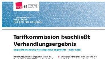 Kurzinfo ver.di@IBM 02.11.2017 - Teaser