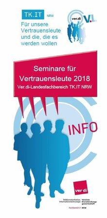 Seminarprogramm VL-Seminare 2018 LFB 9 NRW - Titelblatt