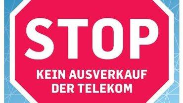 STOPP - Kein Ausverkauf der Telekom - Teaser