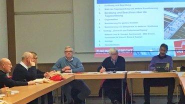 Gründungsversammlung BetrGr SeniorInnen Köln am 31.01.2018