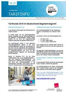 Tarifinfo 3 - Verhandlungstermin steht bevor