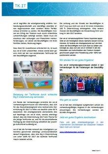 Tarifinfo 5 - Verhandlungen eröffnet  - Seite 3