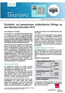 Themenbrief Betriebsratswahl Telekom 2018 - Seite 1