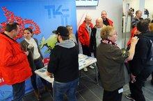 Mittagspausenaktion der Landesfachgruppe TK in Düsseldorf